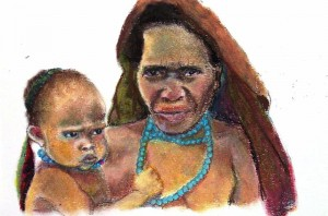 Papoea vrouwen 01